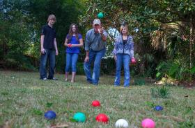 10% off Murbles a game that the whole family can enjoy outdoors