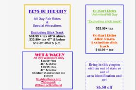 $6.50 off of any Wristband of your Choosing at Sam's Fun City
