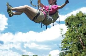 $29 discount on all zip line tours for the month of February