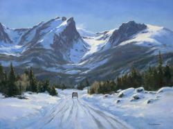 Cecy Turner Painting - March Journey