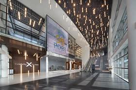 Cruise Terminal 25 lobby