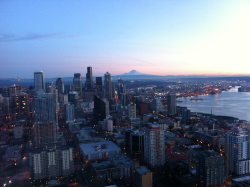 Up in Cloud 9 on top of the Space Needle Blog City View5