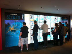 Up in Cloud 9 on top of the Space Needle Blog Touchscreen