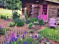 The barn offers alternative accommodations near Clayton NC.