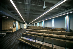 Cruise Terminal 2's guest lounge has been completely renovated with plenty of seating.