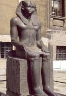 A monumental ancient Egyptian statue of a seated pharaoh-probably Amenemhat II-will be lent to The Metropolitan Museum of Art by Berlin's renowned Ägyptisches Museum und Papyrussammlung, Staatliche Museen zu Berlin - Preussischer Kulturbesitz for a period of ten years, beginning this month.