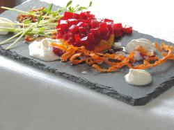 Beet Tartar Recipe at the Settlers Inn with Chef Ben