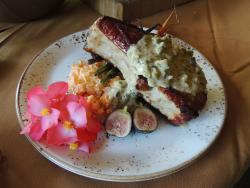 Pork Chop with Pistachio Cream Sauce Recipe at the Settlers Inn with Chef Ben