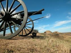 Canons at Fort Fisher STate Historic Site