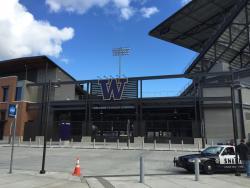 University of Washington Husky Stadium entrance