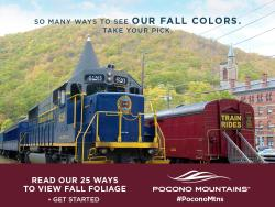 2018 Fall Marketing Campaign - Online Ad - Pocono Mountains Visitors Bureau