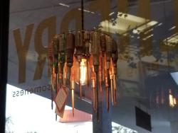 Screwdriver hanging light by Marc Washicheck