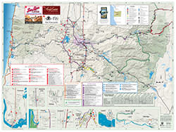 Lane County map 2019