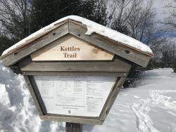 Kettles Trail Trailhead