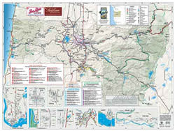 Unity Oregon Map.Eugene Maps Walking Tour Map Eugene Cascades Oregon Coast