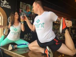 Mint Studio - Beer Yoga