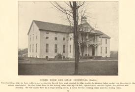 Carlisle Indian School Dining Room & Girls Industrial Hall
