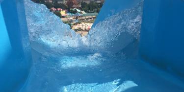 Hurricane Bay water, slide