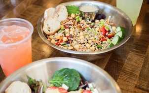 Salads at Vinaigrette