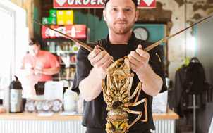 Lobster at Smithtown