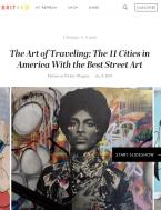 Brit + co The Art of Traveling: The 11 Cities in America With the Best Street Art