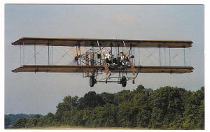 wright b flyer plane in dayton