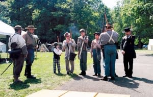 Civil War Reenactment Weekend at Robert Moses State Park