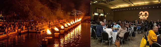 WaterFire Groundbreaking - 2016 Annual Meeting