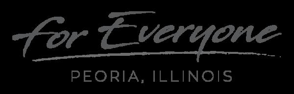 For Everyone Peoria - Grey logo