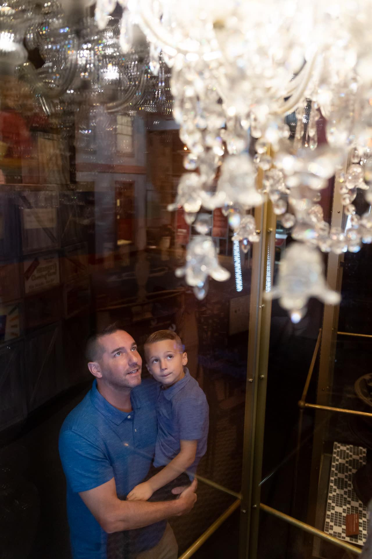 Milton's chandelier
