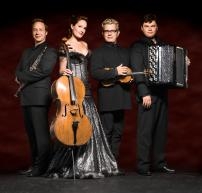 Quartetto Gelato performs with the Winnipeg Symphony Orchestra
