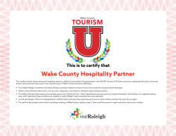 Tourism U 100