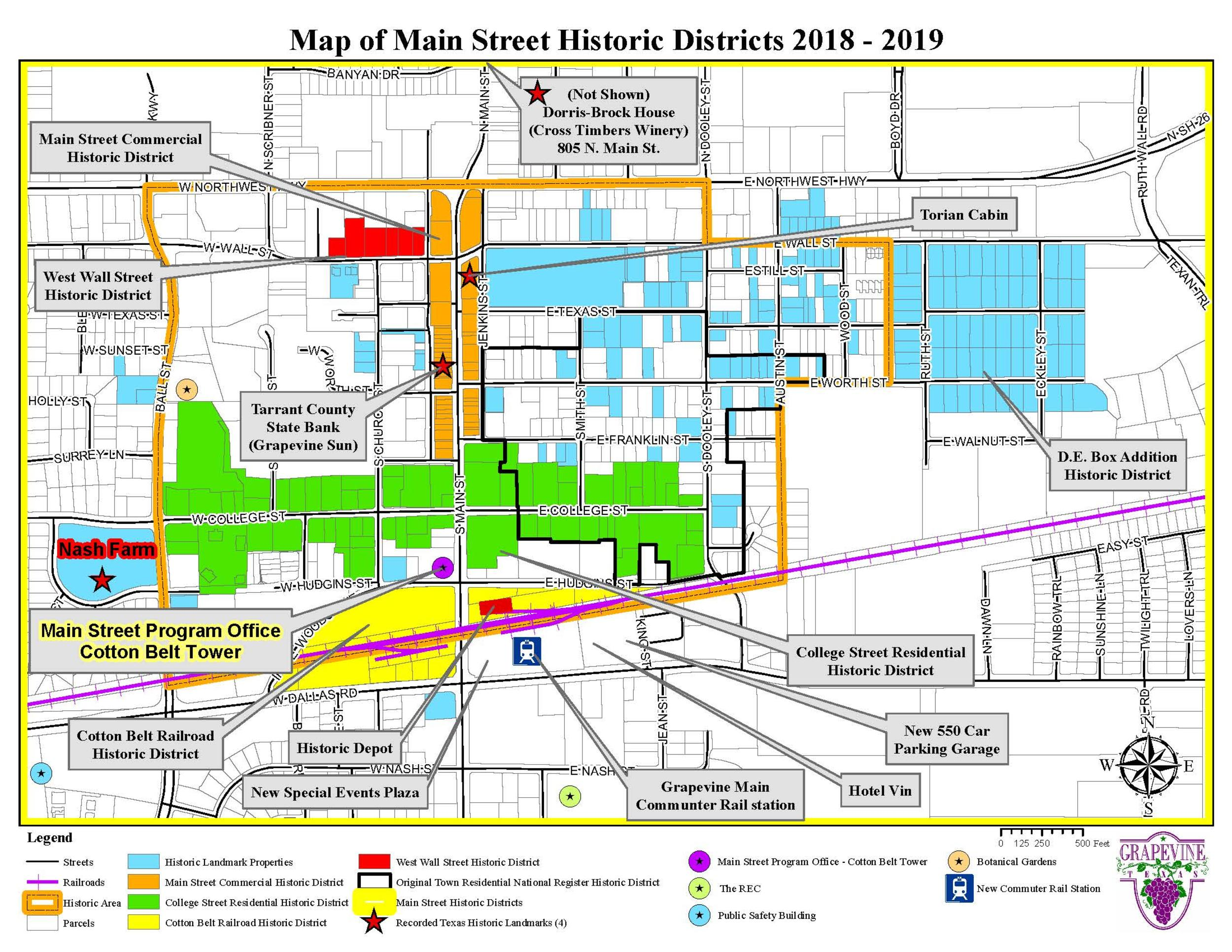 Historic District Map 2018-2019
