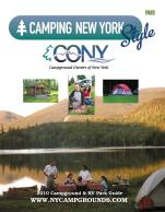 Campground Owners of New York 2010 Directory of RV Parks and Campgrounds