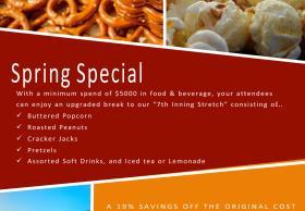 Food & Beverage Spring Special