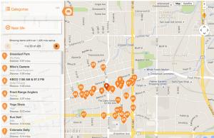 Boulder Maps Downtown Hiking Trails Resort Map Walking Tours