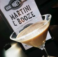 Martinis at Mort's Martini Bar