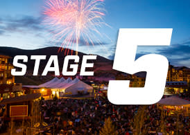 Tour of Utah Stage 5 graphic
