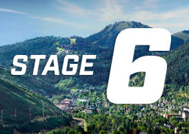 Tour of Utah Stage 6 Graphic