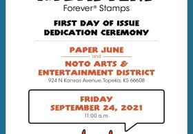 United States Postal Service Message Monsters Stamp Dedication