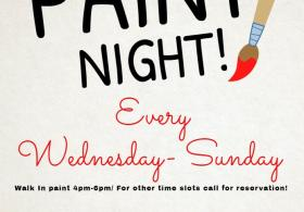 Walk-in paint nights