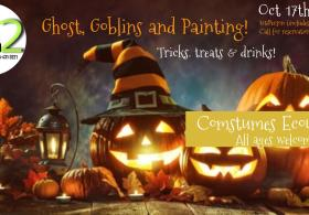 Ghosts, Goblins & Paint