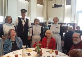 Harvey House Luncheon