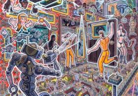 Novel Art - Narrative Paintings