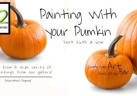 Paint with your pumpkin