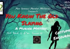 """Miss Queen's """"You know the old slaying"""" Murder mystery"""