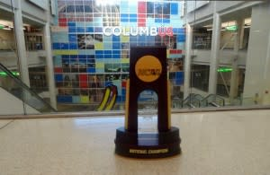 NCAA Volleyball Trophy