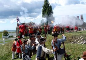 Provincial troops from New York and other colonies were responsible for the successful defense of Fort Ontario in 1759.