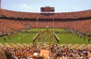 UT football halftime performances at Neyland Stadium