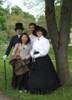 Nikola Tesla, Guests of the Park and Annie Edson Taylor